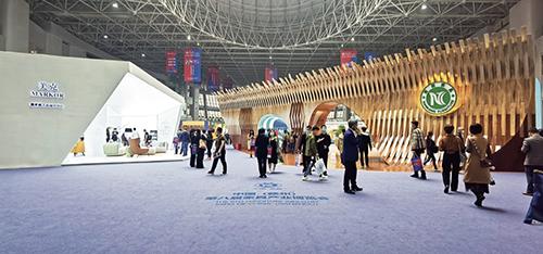 91 中國( 贛州) 第八屆家具產業博覽會的美克家居展廳