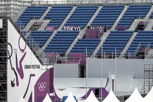 101-1 7 月9 日,日本东京,2020 东京奥运会的比赛场地。