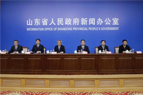 山东省政府新闻办召开新闻发布会介绍全省上半年经济社会发展情况
