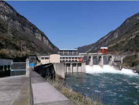 1 失去水電站后的長潭河水庫的非正常泄水方式