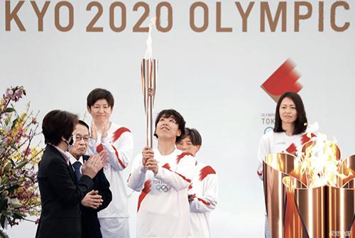 18 2021 年3 月25 日,2020 東京奧運會火炬傳遞在日本福島縣正式開啟。