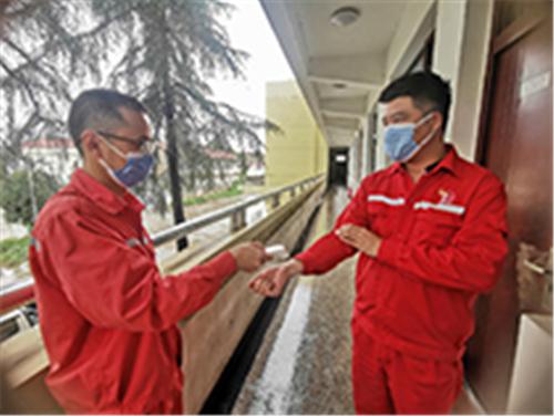 2、強化疫情防控管理
