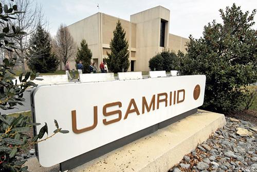 20 美国马里兰州弗雷德里克,美国陆军传染病医学研究所(USAMRIID)。