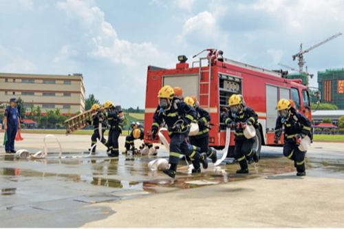 99-2 四川消防員日常訓練及演練